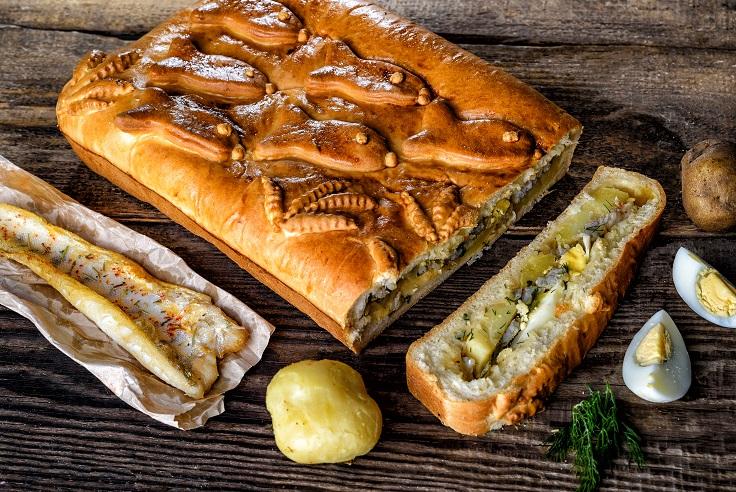 Пирог из судака с картошкой рецепт с